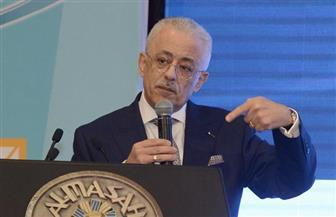 """وزير التعليم: """"إحنا متحرم علينا النوم.. وأطفال مصر رايحين في سكة غلط"""""""
