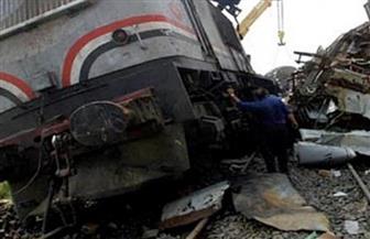 وفاة شخصين بعد تصادم سيارة بقطار في قليوب