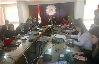 """وزيرة الهجرة تستقبل وفد القومي للمرأة لمناقشة تفاصيل مؤتمر """"مصر تستطيع بالتاء المربوطة"""""""