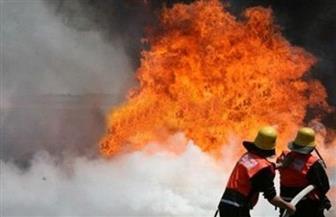 إصابة مزارع ووالدته في حريق بالبحيرة