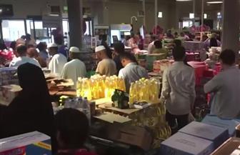 قطريون: فوضى تضرب أسواق السلع الغذائية.. والناس اقتحموا متاجر البقالة| فيديو