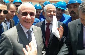 """""""العصار"""" و""""نصار"""" يفتتحان محطة طاقة شمسية بجامعة القاهرة بتكلفة 8 ملايين جنيه   صور"""
