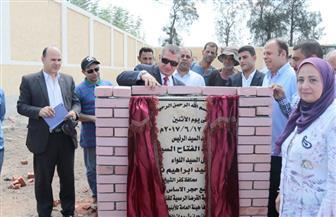 محافظ كفرالشيخ يضع حجر الأساس للمدرسة الدولية للغات | صور