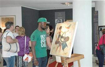 الأكاديمية المصرية للفنون بروما تستقبل وفد المعهد البابوي الإيطالي | صور