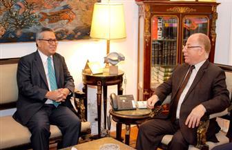 النمنم يلتقي سفير إندونيسيا لبحث سبل التعاون الثقافي بين البلدين |صور