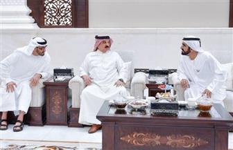 ملك البحرين يجري مباحثات مع نائب رئيس الإمارات وولي عهد أبوظبي