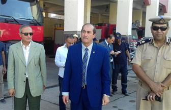 مساعد وزير الداخلية لوسط الصعيد يتفقد الخدمات الأمنية في سوهاج