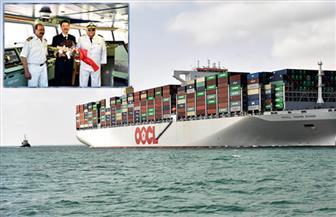 مميش: قناة السويس تواصل تحطيم الأرقام القياسية بعبور أكبر سفينة حاويات في العالم بحمولة 216.7 ألف طن | صور