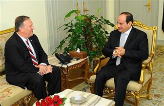 السيسي يستقبل مدير وكالة الاستخبارات المركزية الأمريكية.. ويؤكد ضرورة تعزيز جهود مكافحة الإرهاب