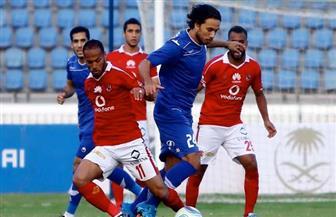 صالح جمعة يقود الأهلي للفوز على سموحة برباعية في الدوري