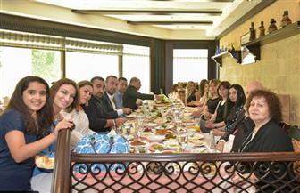 الجالية الأرمينية تحتفل بالإفطار الجماعى بحضور رجال السياسة والإعلام