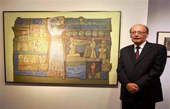 """التشكيلي أحمد شيحة الفائز بجائزة الدولة التقديرية: """"تتويج لمسيرتي الفنية"""""""