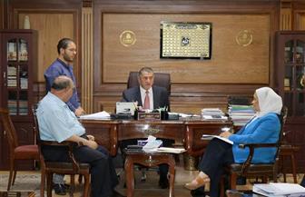 محافظ كفر الشيخ يناقش المشروعات الجديدة مع وفد الهيئة العامة للاستثمار | صور