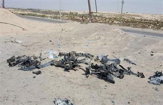 الداخلية: إحباط محاولة إرهابية لاستهداف كمين بسيارة مفخخة بالكيلو 177 بالطريق الدولي العريش | صور