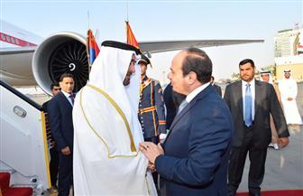 ولي عهد أبو ظبي يؤكد للسيسي أهمية دور مصر في المنطقة باعتبارها ركيزة للاستقرار والأمن | صور