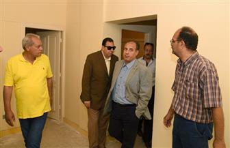 محافظ الإسكندرية يتفقد تعاونيات العامرية تمهيدًا لنقل المتضررين من عقار الأزاريطة إليها   صور