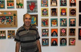 """إبراهيم البريدي الفائز بـ """"التشجيعية"""": الجائزة انتصار للفنانين التلقائيين .. واللجنة كانت محايدة"""