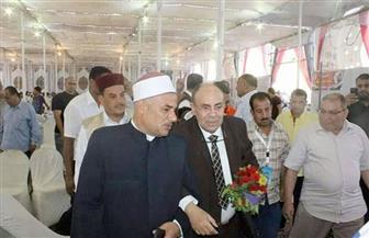 محافظة مطروح تنظم ملتقى دينيًا بحضور مبروك عطية