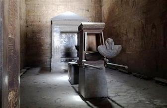 باحثون مصريون يرصدون تعامد شمس الظهيرة على معبد إدفو يوم عيد الإله حورس | صور