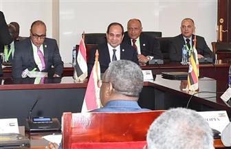 السيسى يؤكد دعم مصر لمساعي الرئيس الأوغندي لاستعادة التوافق بين دول حوض النيل