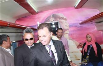 وزير النقل يتوجه للإسكندرية بعد انطلاق القطار الإسباني المطور في ورش أبو راضي التابعة للهيئة | صور