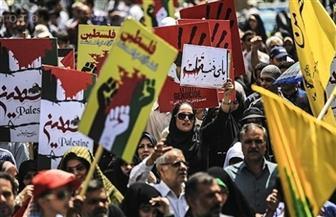"""انطلاق مسيرات """"يوم القدس"""" في إيران رافعة شعارات """"الموت لأمريكا وإسرائيل"""""""