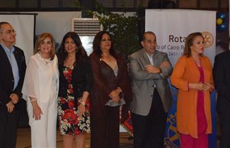 """تكريم غادة والي ونور الزيني وحنان جويفل في احتفال """"المنطقة الروتارية"""" بـ """"عام المرأة""""  صور"""