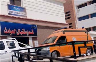 إصابة 8 مواطنين في حادثي طريق بالسويس