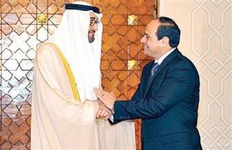 السيسي يتلقي اتصالًا هاتفيًا من ولي عهد أبو ظبي للتهنئة بحلول عيد الفطر المبارك