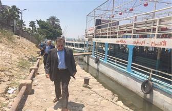 وزير النقل يتابع إجراءات الأمن والسلامة للمراكب النيلية |صور