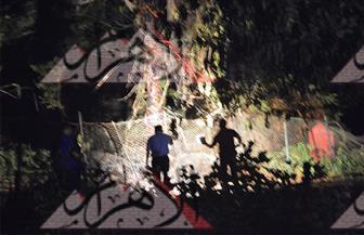 النيابة العامة والمعمل الجنائى يعاينان حريق جبلاية حديقة الحيوان بعد منتصف الليل | صور