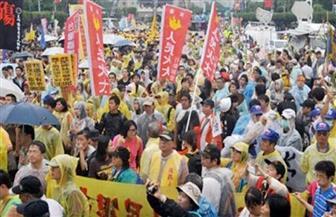 احتجاج الآلاف في تايوان بسبب قوانين التعدين