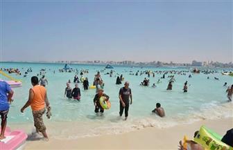 محافظ مطروح:  إقبال كثيف على شواطئ ومتنزهات المحافظة خلال العيد.. ونسبة الإشغال بلغت 100 %   صور