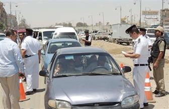 مرور الجيزة يضبط 8 آلاف مخالفة مرورية بالشوارع والميادين