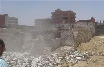 إزالة 8 مبان بالغردقة أعيد بناؤها على أراضي الدولة بالقصير| صور