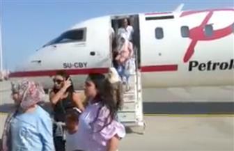 مطار الغردقة يستقبل أول رحلة طيران قادمة من بيروت