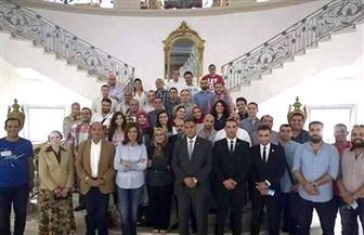 """كراعٍ علمي للمؤتمر: شباب الأكاديمية العربية للعلوم والتكنولوجيا يشارك فى مؤتمر """"مصر تستطيع بالتاء المربوطة"""""""