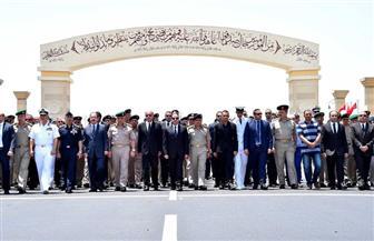السيسي يتقدم الجنازة العسكرية لقائد المنطقة الشمالية بمسجد المشير بالتجمع الخامس | صور