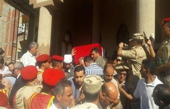 تشييع جثمان قائد المنطقة الشمالية العسكرية بمسقط رأسه بالدقهلية   صور