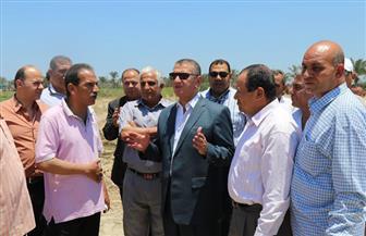 محافظ كفرالشيخ يتابع إنشاء مصنع فصل الرمال السوداء والمخطط الجديد لتنمية شمال شرق البرلس