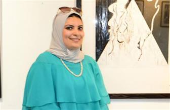 """إنجي عبدالمنعم عن معرضها الجديد: أرى عالمي من """"نقطة تحول"""""""