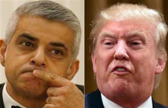 عمدة لندن صادق خان يطالب بإلغاء زيارة ترامب لبريطانيا