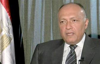 """في ختام زيارته """"فرنسا"""".. شكري يعرض أدلة دعم قطر للإرهاب.. ويؤكد أن مصر لن تتسامح مع من يعبث بأمنها"""
