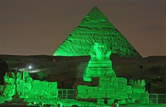 الأمم المتحدة: إضاءة الأهرام في مصر ومعالم عالمية باللون الأخضر في يوم البيئة العالمي