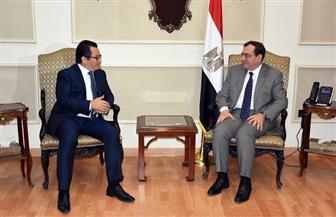 الملا يبحث مع سفير كازاخستان الفرص الاستثمارية المتاحة في المشروعات البترولية