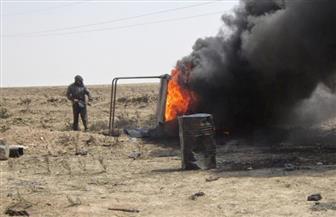 داعش يحرق براميل النفط لحجب الرؤية في مدينة الرقة السورية
