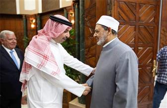 سفير البحرين: جهود شيخ الأزهر في خدمة الإسلام ونشر السلام محل تقدير واهتمام من الجميع | صور