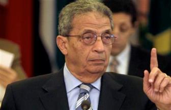 """عمرو موسى خلال اجتماعه بجمعية رجال أعمال إسكندرية: """"الإصلاح الإدارى أولًا قبل الاقتصادى"""""""