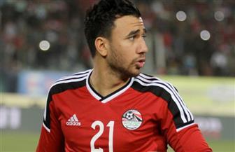 الإصابة تحرم منتخب الفراعنة من جهود محمود تريزيجيه أمام تونس