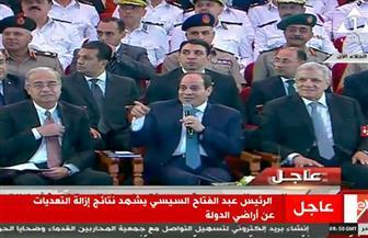 السيسي: الاستثمار في مصر الفترة السابقة لم يكن جاذبًا بسبب العمليات الإرهابية المدعومة من الخارج